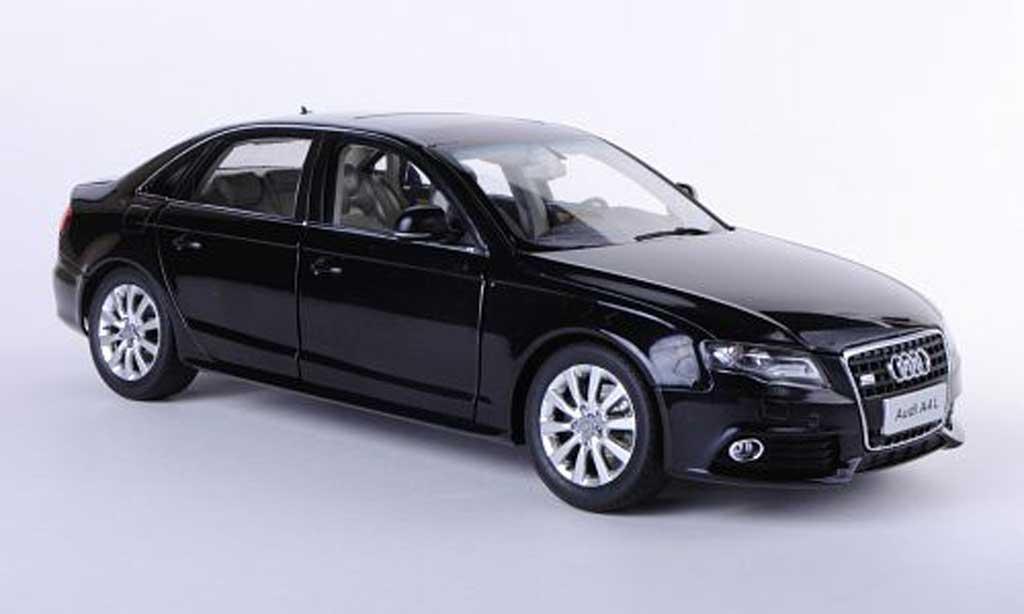 Audi A4 2011 1/18 Paudi (B8) noire Asien-Version 2011 miniature
