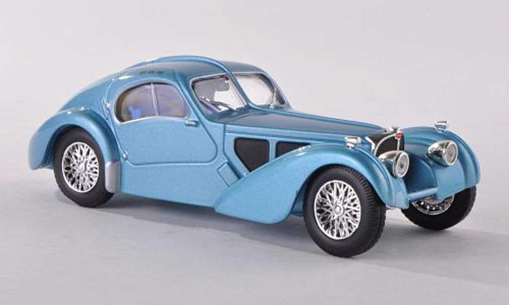 Bugatti 57 SC 1/43 WhiteBox Atlantic clair-bleu 1937 miniature