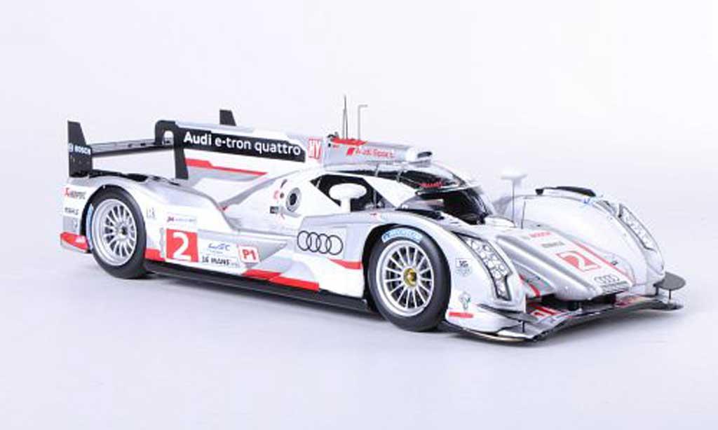 Audi R18 e-tron 1/43 Spark quattro No.2 Capello / Kristensen / McNish 24h Le Mans 2012 miniature