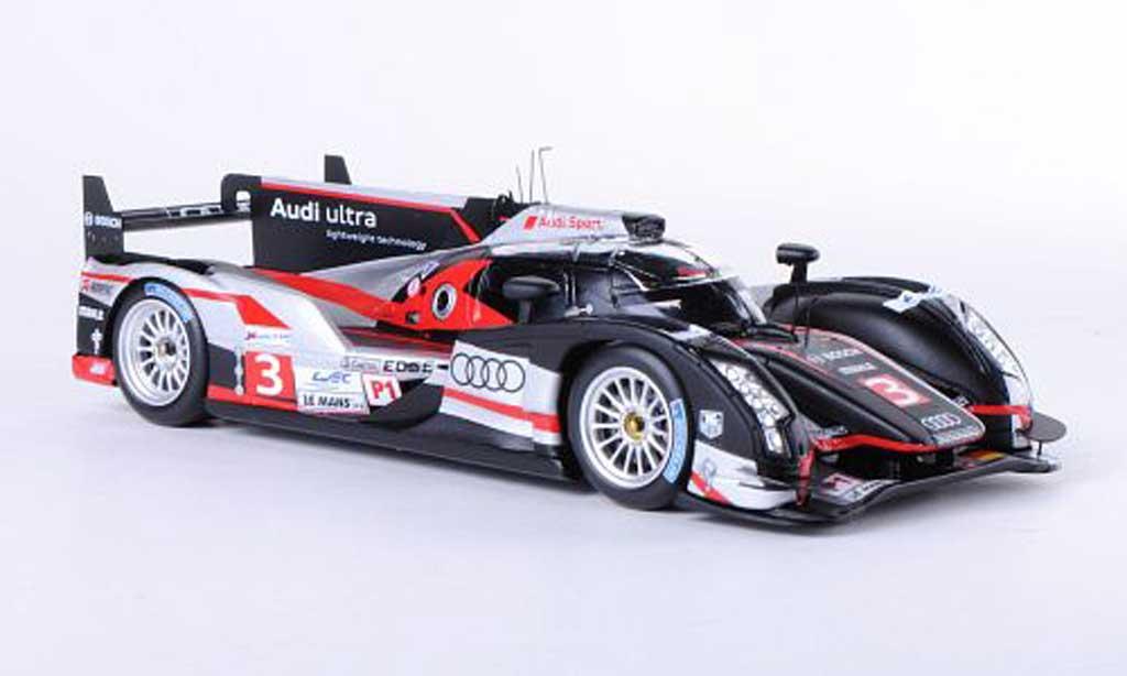 Audi R18 2012 1/43 Spark 2012 ultra No.3 Dumas / Duval / Gene 12h Le Mans miniature