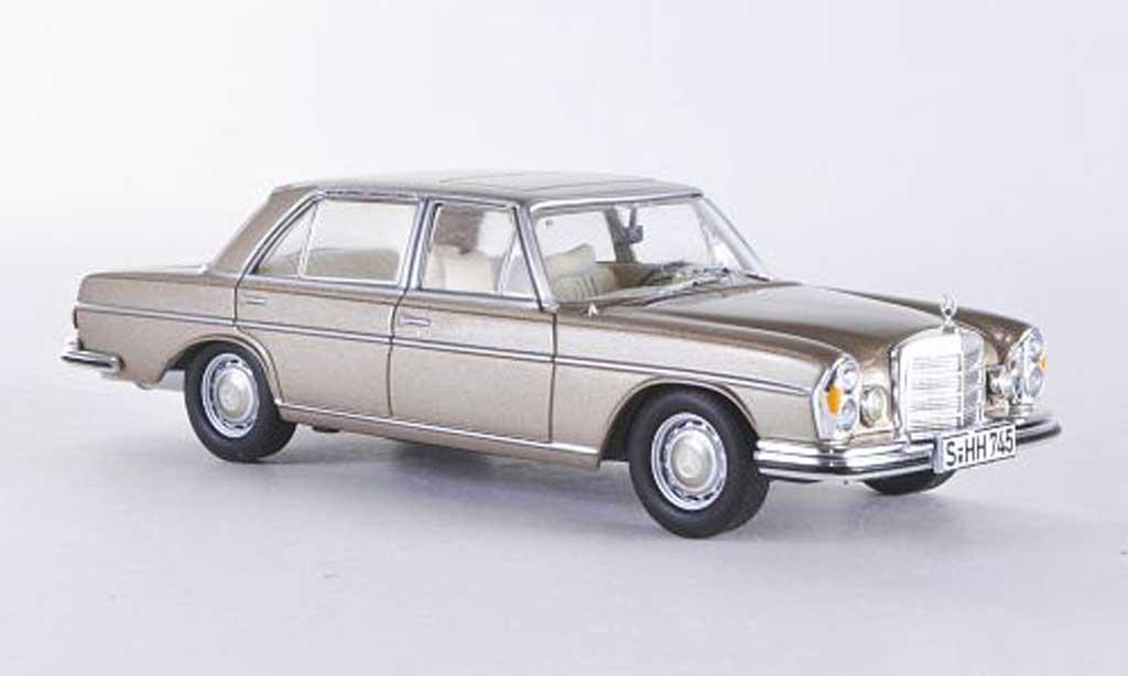 Mercedes 300 SEL 1/43 WhiteBox 6.3 (W109) beige 1968 miniature