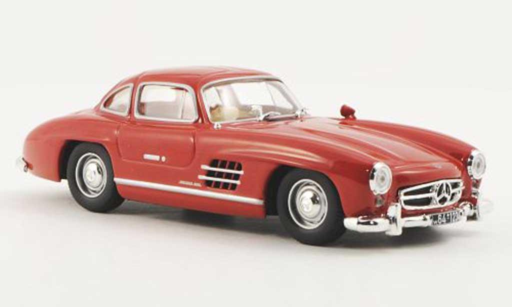 Mercedes 300 SL 1/43 WhiteBox (W198) rouge 1954