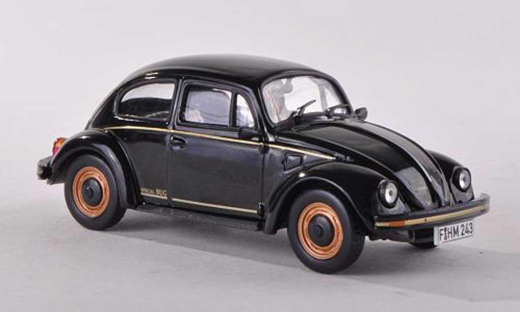 Volkswagen Coccinelle 1/43 WhiteBox Special Bug black 1983 diecast model cars