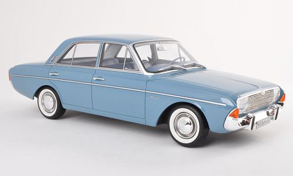Ford Taunus 1965 1/18 BoS Models 20M (P5) clair-bleu limitee edition 1.000 pieces miniature