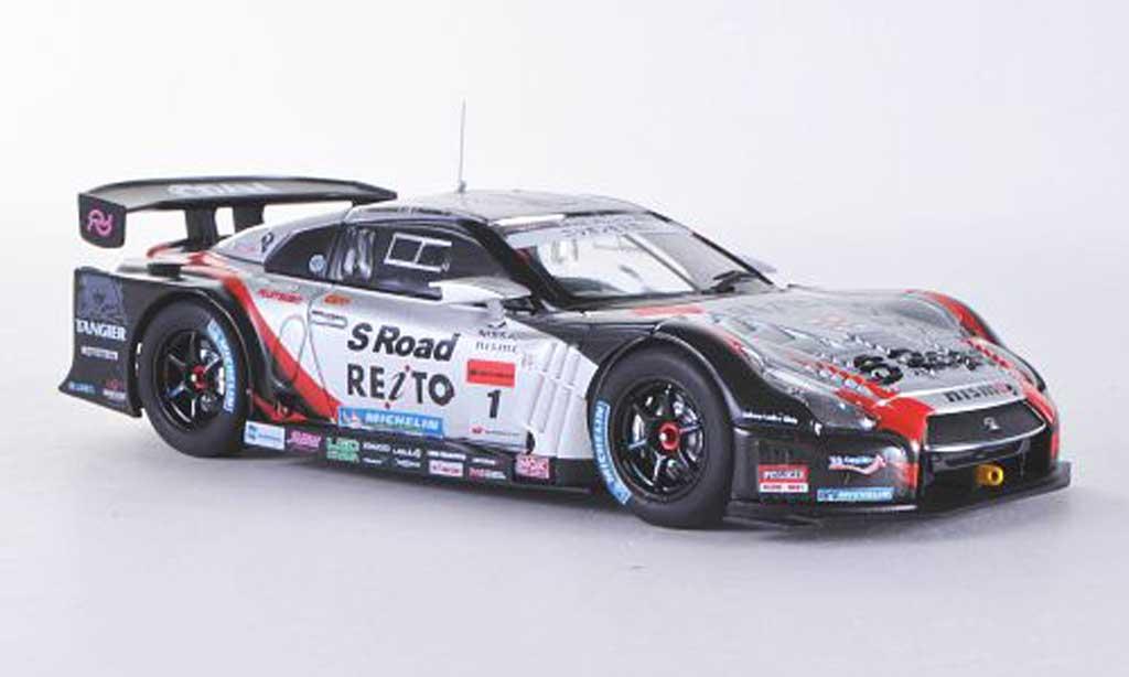 Nissan Skyline R35 1/43 Ebbro GT-R No.1 S Road Reito Mola Super GT500 2012 Masataka Yanagida/Ronnie Quintarelli miniature