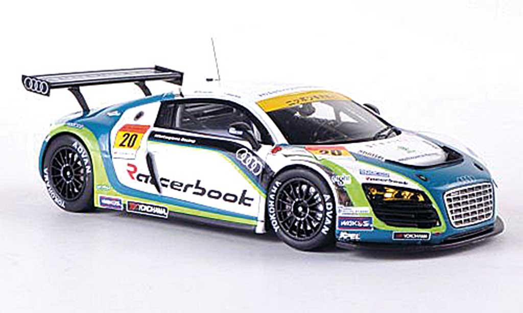Audi R8 LMS 1/43 Ebbro No.20 Hitotsuyama Racing Super GT300 2012 M.Kim/H.Noda