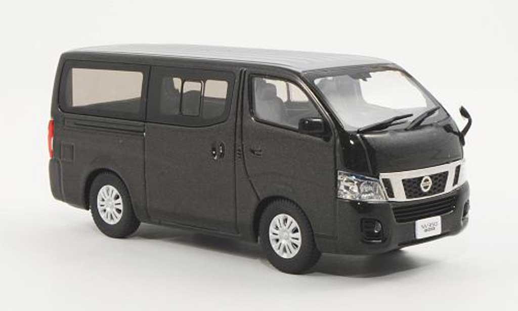 Nissan NV350 1/43 Ebbro Caravan marron miniature