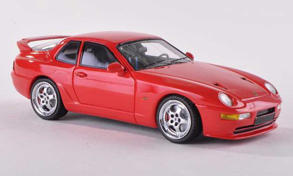 Porsche 968 Turbo RS 1/43 Neo rouge limitee edition 300 pieces 1993 miniature
