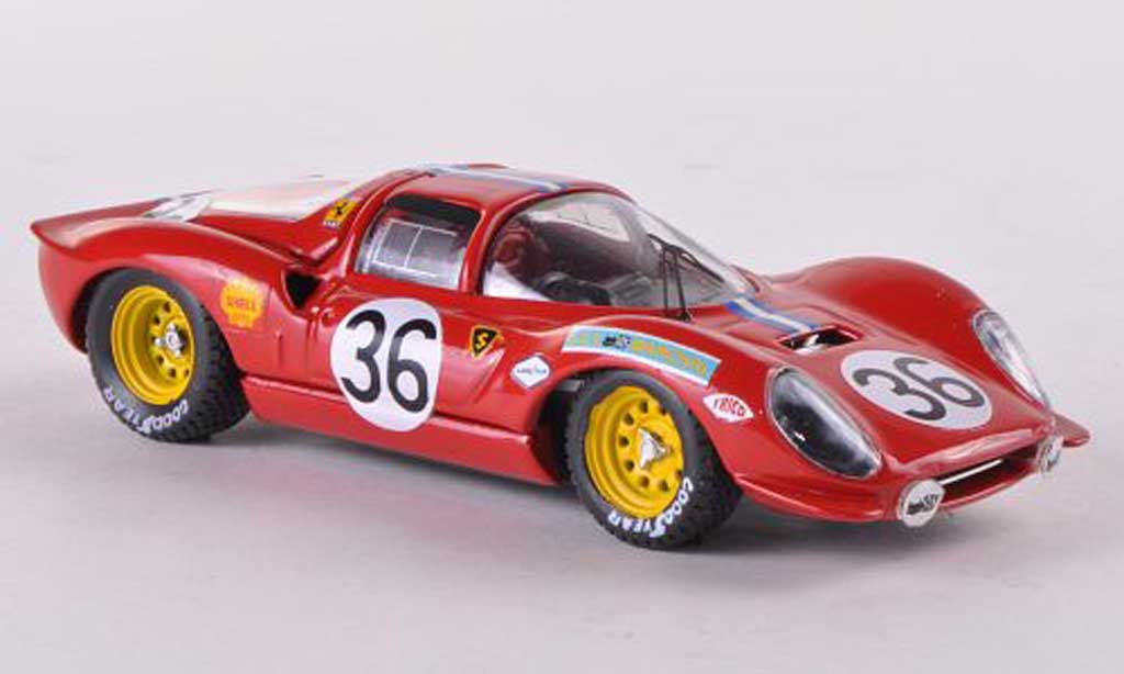 Ferrari Dino 206 1/43 Art Model S No.36 Chevalier/Lagier 24h Le Mans  1968 miniature