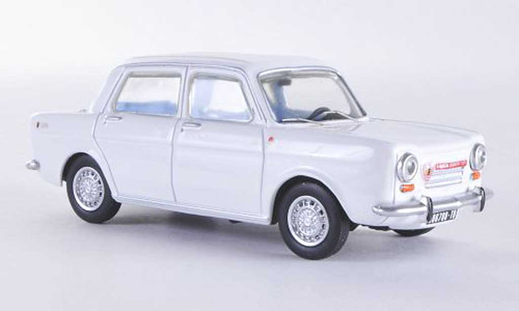 Simca 1150 Abarth 1/43 Best weiss 1963 modellautos