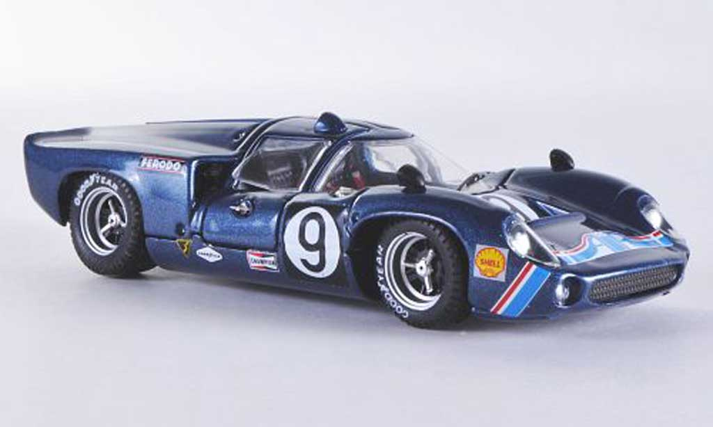 Lola T70 1969 1/43 Best Coupe No.9 Jordan / Patrick Daytona miniature
