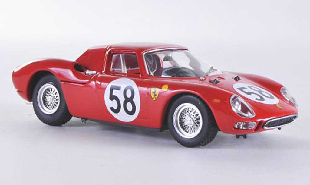 Ferrari 275 1964 1/43 Best LM No.58 J.Rindt / D.Piper 24h Le Mans miniature