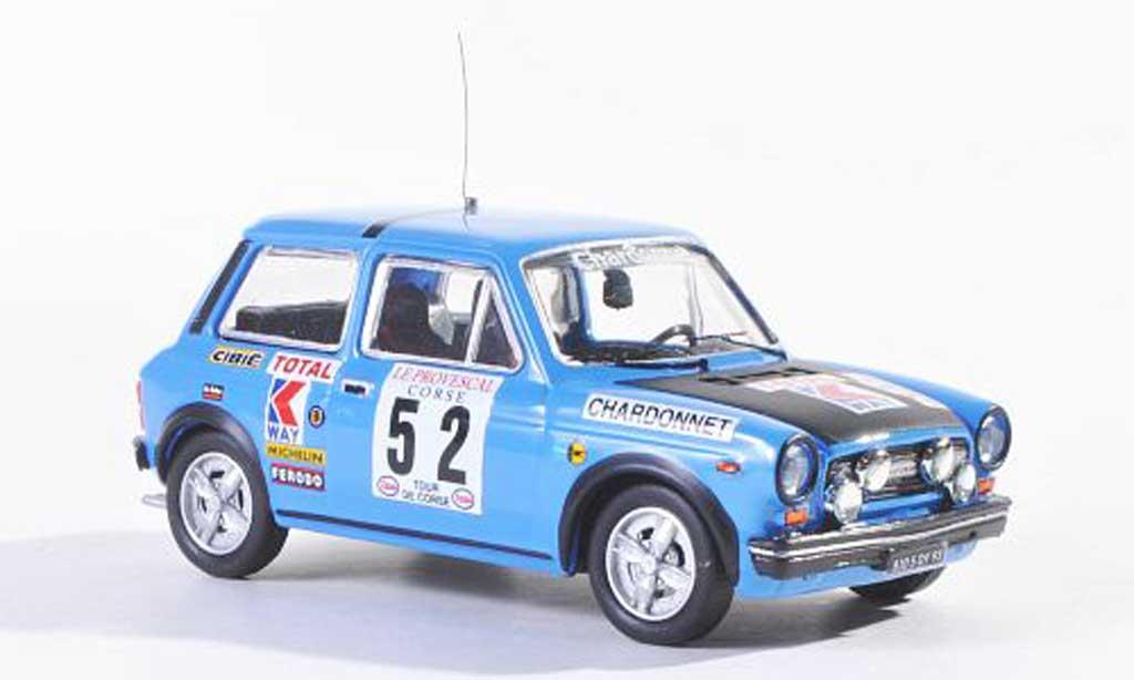 Autobianchi 1/43 Best Abarth No.52 Tour de Corse 1977 Pagani/Carlotti miniature