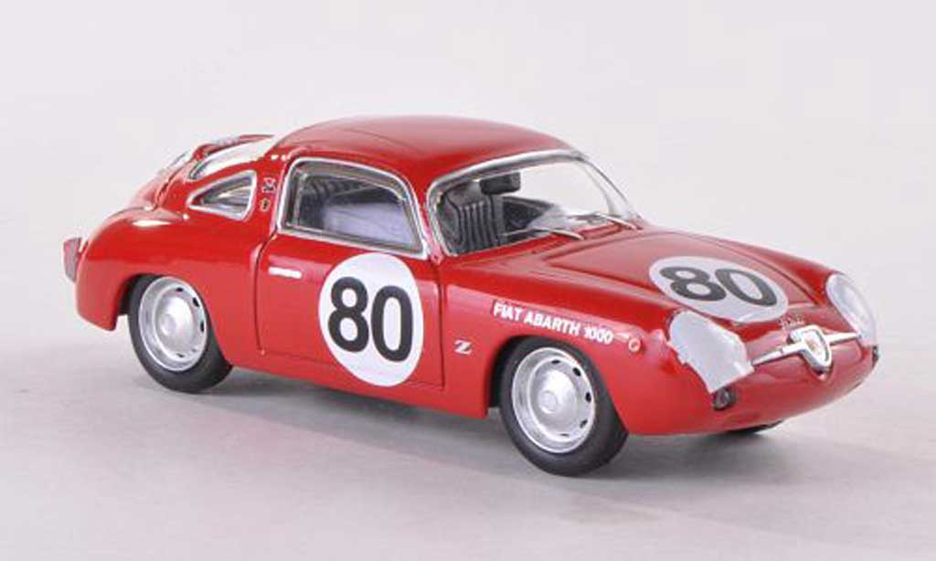 Fiat 750 1/43 Best Abarth Zagato No.80 Sebring 1961 miniature