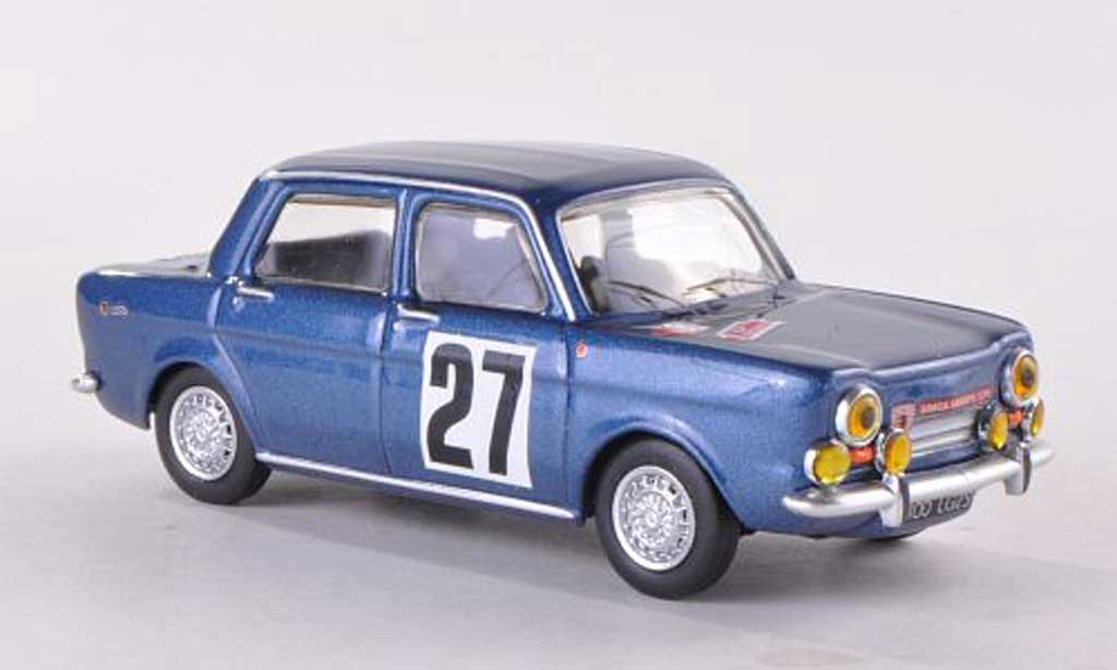 Simca 1150 Abarth 1/43 Best No.27 Rally de Franche-Comte  1967 modellautos