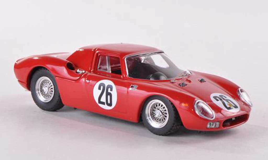 Ferrari 250 LM 1966 1/43 Best No.26 1000Km Paris Parkes/Piper