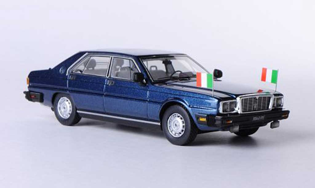 Maserati Quattroporte 1/43 Kess III 4.9 Presidential Pertini bleu 1983 miniature