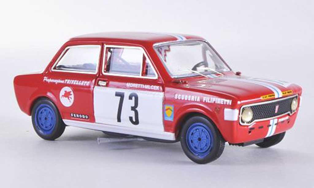Fiat 128 1/43 Rio No.73 Scuderia Filippinetti Moretti / Micek Brunn 1970 miniature