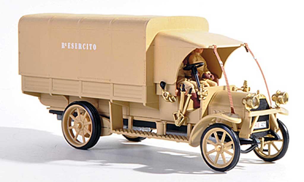 Fiat 18 1/43 Rio BL Italienische Armee Der Konig der Wuste + 2 Figuren 1919 miniature