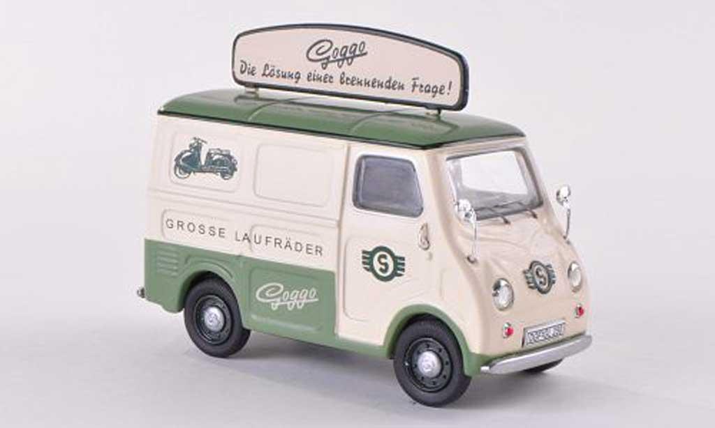 Goggomobil TL 1/43 Premium ClassiXXs 250 Kasten Goggo - die Losung  miniature