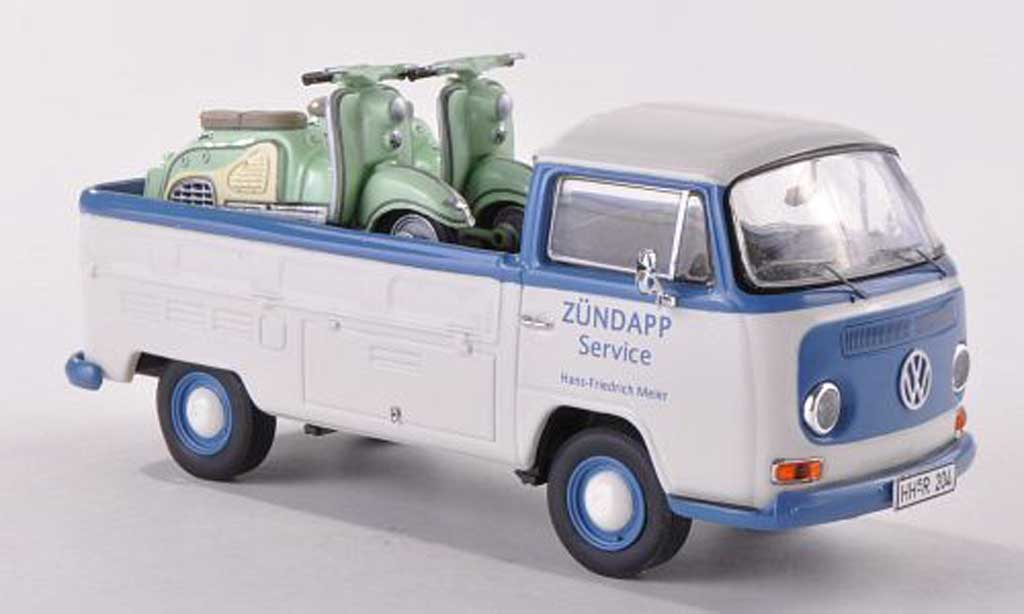 Volkswagen T2 1/43 Premium ClassiXXs Platform/ 2 Zundapp Bella Zundapp miniature