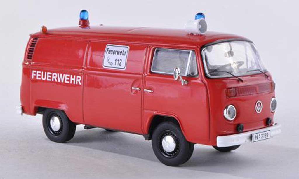 Volkswagen T2 B 1/43 Premium ClassiXXs kombipompiers miniature