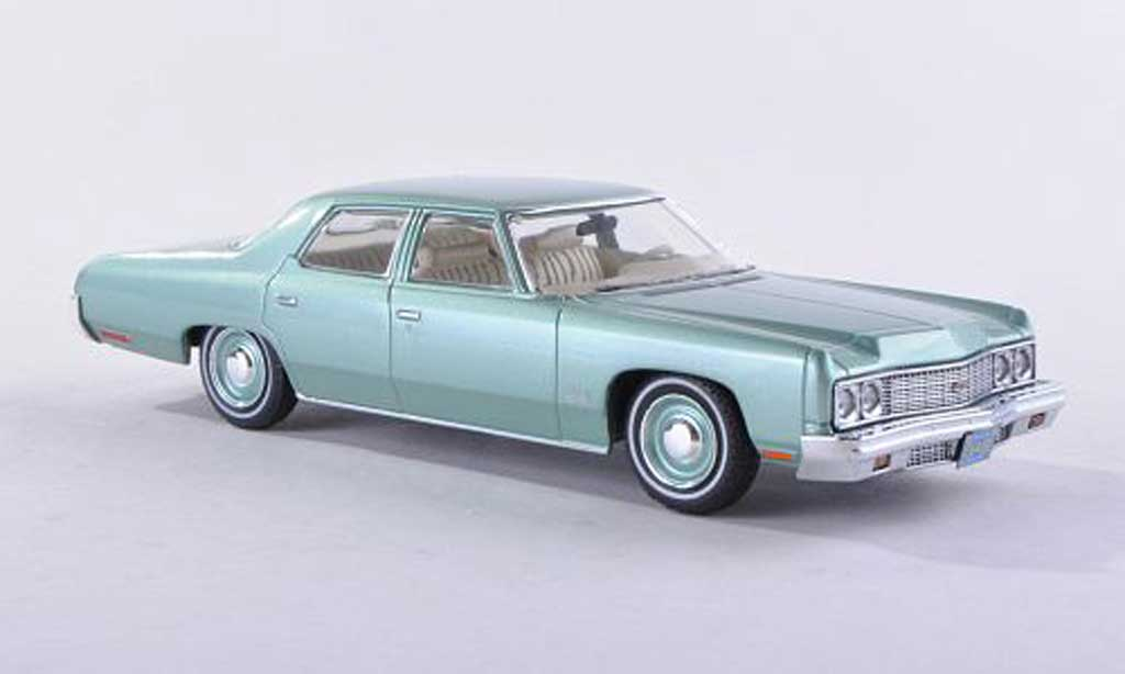 Chevrolet Bel Air 1973 clair-green modele special limitee edition 500 piece Premium X. Chevrolet Bel Air 1973 clair-green modele special limitee edition 500 piece miniature 1/43