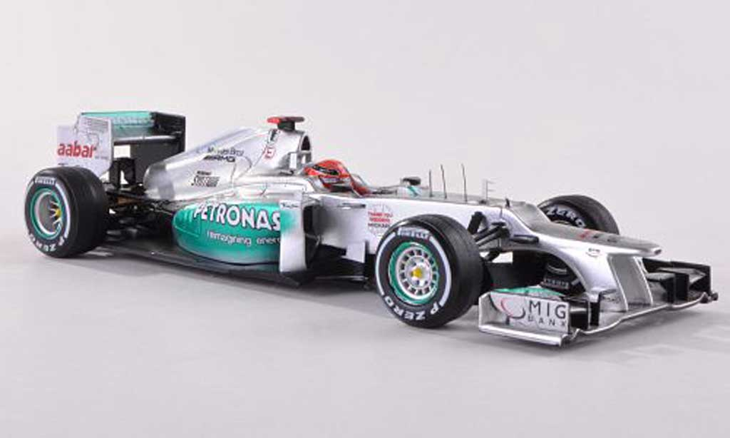Mercedes F1 2012 1/43 Spark AMG W03 No.7 Petronas M.Schumacher GP Brasilien miniature