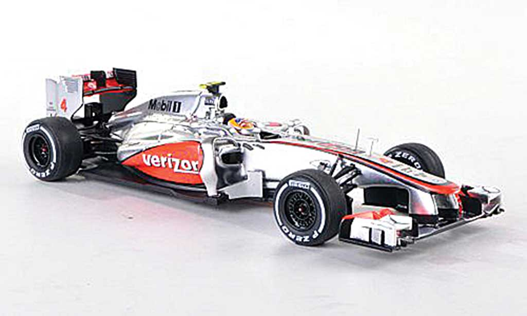 McLaren F1 2012 1/43 Spark 2012 MP4-27 No.4 Vodafone GP USA L.Hamilton miniature