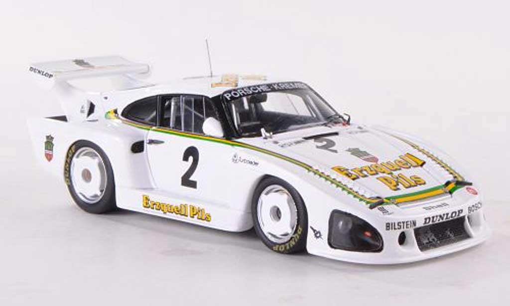 Porsche 935 1979 1/43 Spark K3 No.2 Kremer Erzquell Pils 1000km Nurburgring A.Plankenhorn/K.Ludwig miniature