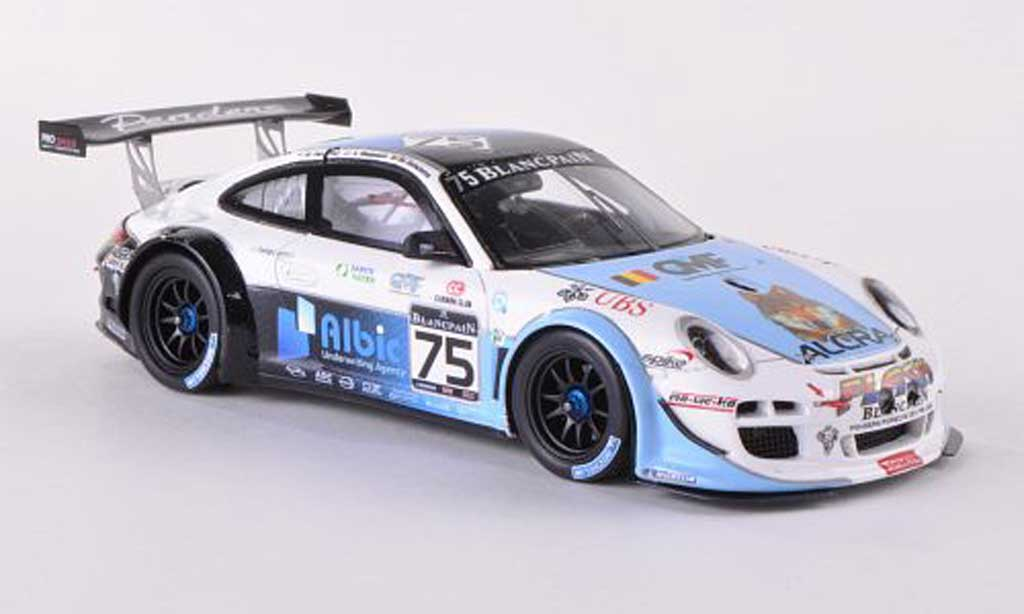 Porsche 997 GT3 1/43 Spark R 2012 No.75 Alcra Flash 24h Spa M.Hennerici/X.Maassen/M.Goossens diecast model cars