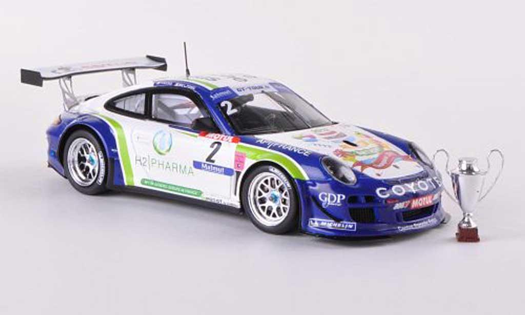 Porsche 997 GT3 1/43 Spark R 2012 No.2 Champion GT Tour A.Beltoise/H.Hassid diecast model cars