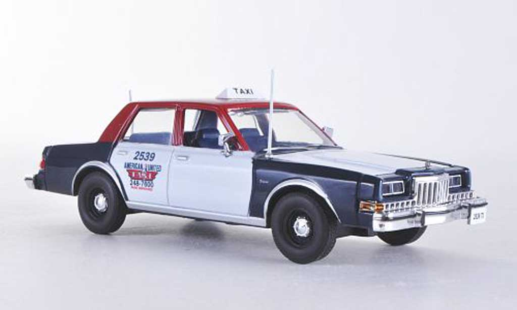 Dodge Diplomat 1/43 American Heritage Models American United - Taxi Chicago 1985 miniature