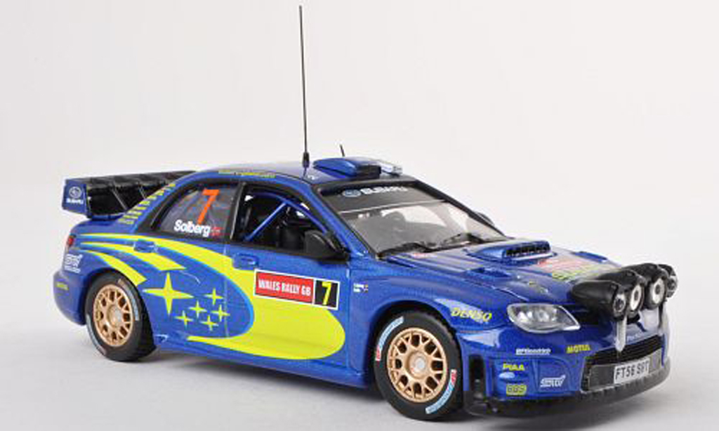 Subaru Impreza WRC 1/43 Vitesse 07 No.7 Rally Wales 2007 P.Solberg/P.Mills modellautos