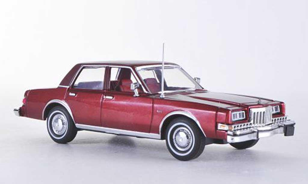 Dodge Diplomat 1/43 American Heritage Models rouge/rouge 1985 miniature