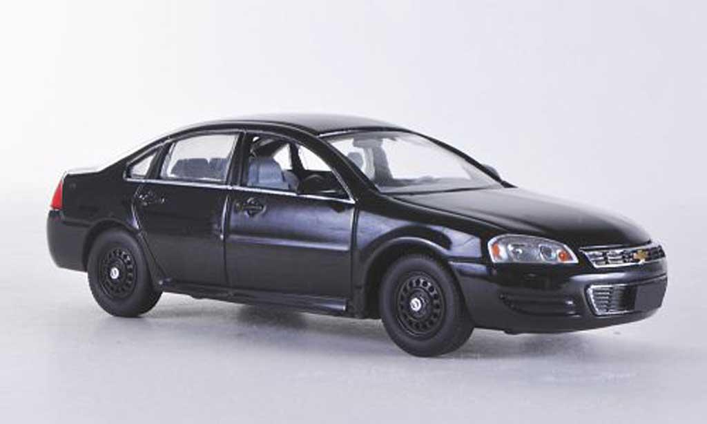 Chevrolet Impala 2011 1/43 First Response noire mit Polizei-Zubehor miniature