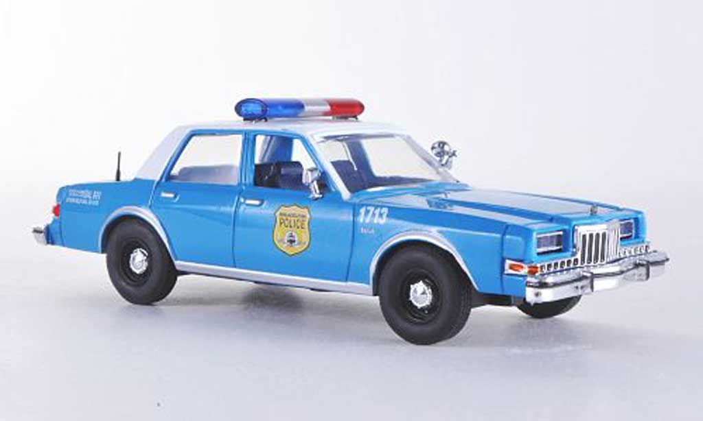Dodge Diplomat 1/43 First Response Philadelphia Police Polizei (USA) 1985 miniature