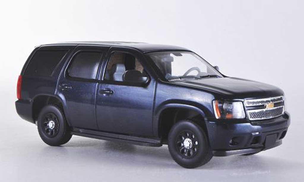 Chevrolet Tahoe 1/43 First Response bleu mit Polizei-Zubehor 2011 miniature