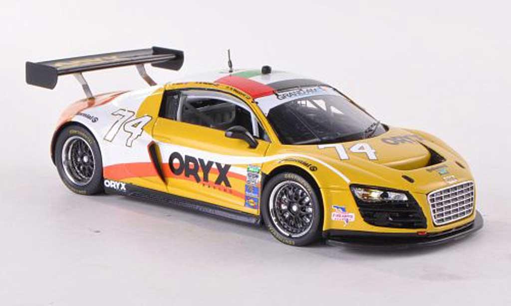 Audi R8 LMS 1/43 Spark Grand-Am No.74 Oryx Racing 24h Daytona 2012 H.Al Masaood/S.Al Mehairi/S.Kane miniature