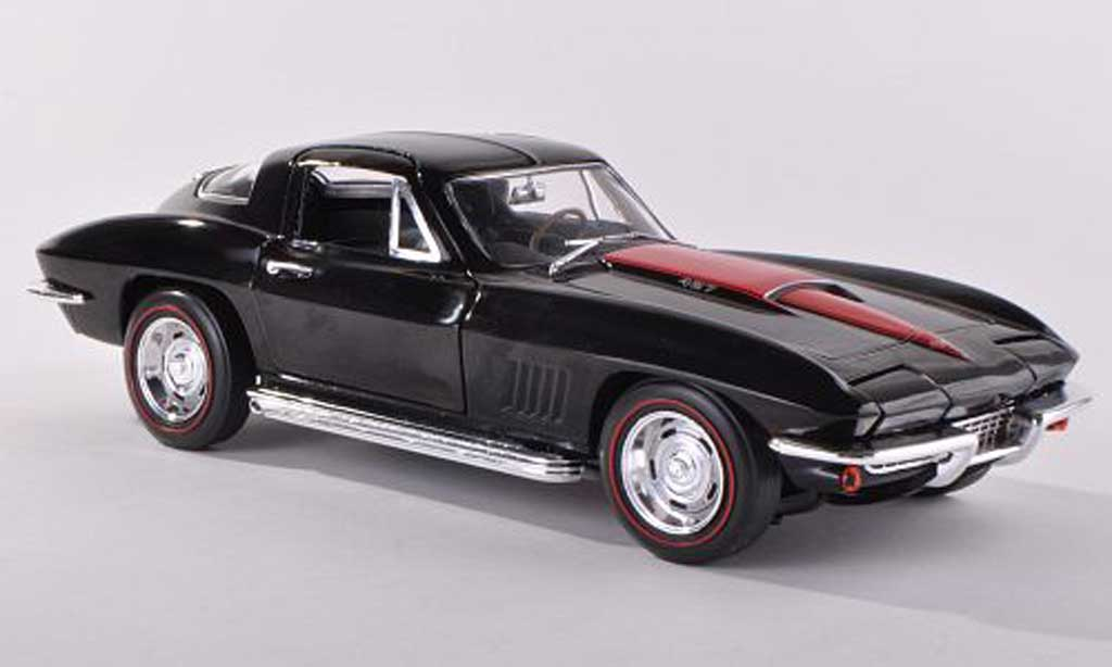 Chevrolet Corvette C2 1/18 Ertl 427 Coupe (C2) black/red diecast