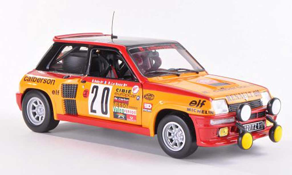 Renault 5 Turbo 1/18 Universal Hobbies No.20 Calberson Rally Monte Carlo  1981 miniature