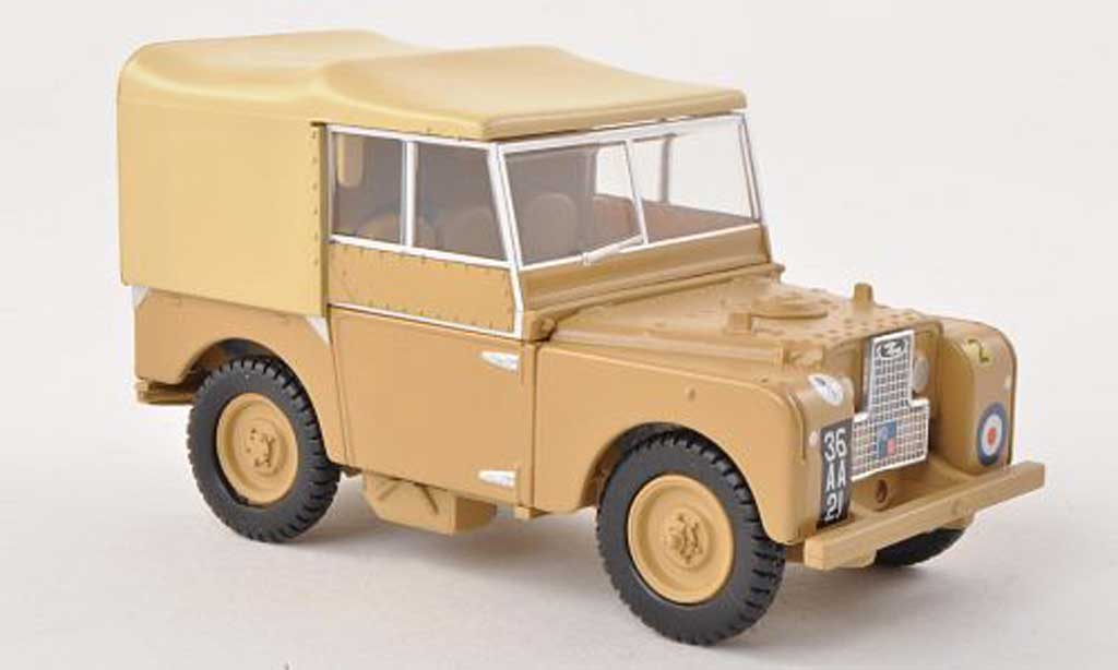 Land Rover 88 1/43 Oxford Series 1 34th Light AA Regiment miniature