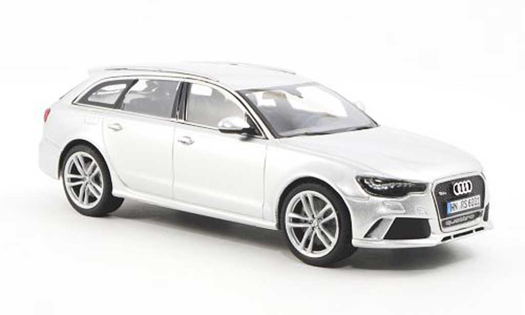 audi rs6 avant typ c7 silber 2012 minichamps modellauto. Black Bedroom Furniture Sets. Home Design Ideas