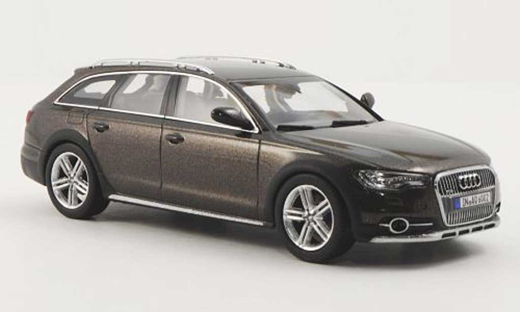 Audi A6 Allroad Quattro C7 Braun 2012 Kyosho Diecast Model Car 1 43 Buy Sell Diecast Car On