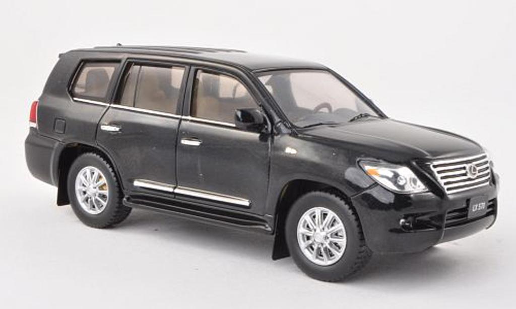 Lexus LX 570 1/43 IXO 570 noire 2010 miniature
