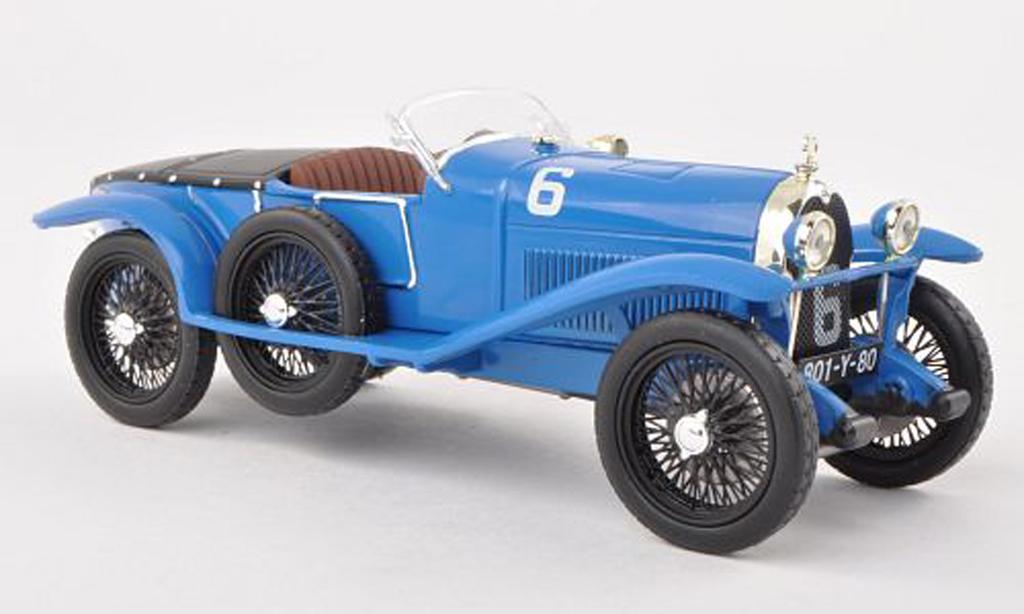 Lorraine Dietrich B3-6 1/43 IXO No.6 24h Le Mans 1925 R.Bloch/L.Saint Paul  miniature