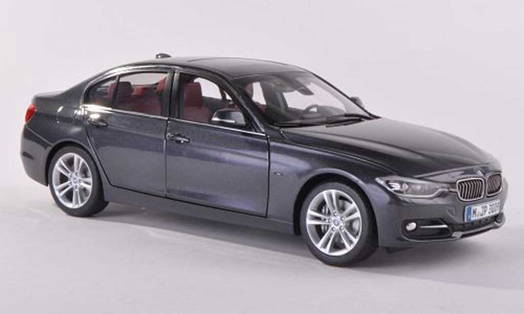Bmw 335 F30 1/43 Paragon grise  miniature
