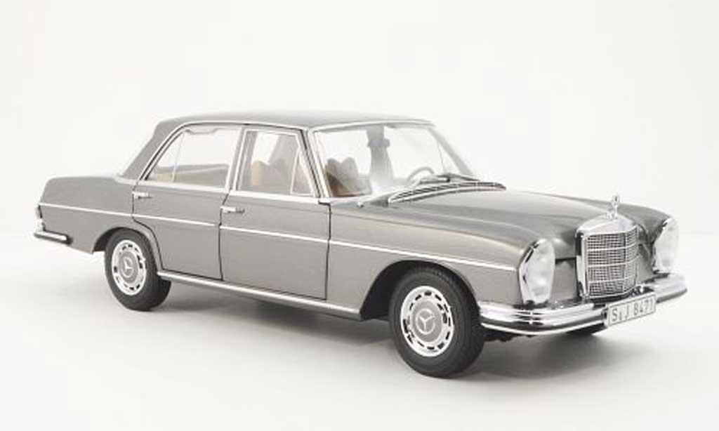 Mercedes 280 SE 1/18 Norev (W108) grise miniature