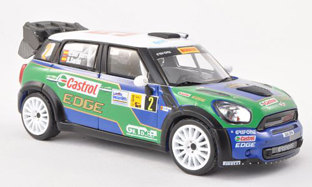 Mini Countryman JCW 1/43 IXO No.2 Rally Monza 2011 D.Sordo/C.Del Barrio miniature