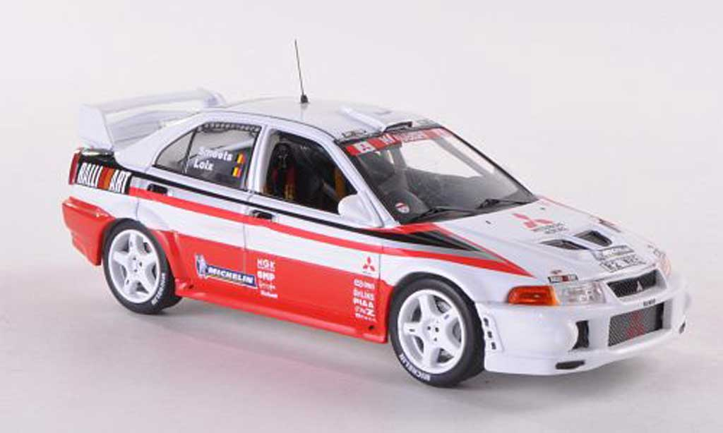 Mitsubishi Lancer Evolution VI 1/43 IXO Ralliart Loix/Smeets Testversion 1999 miniature
